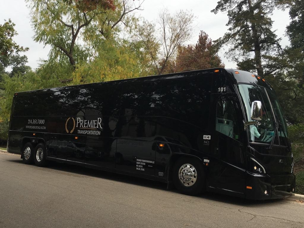 Coach Bus from Premier Drives Global