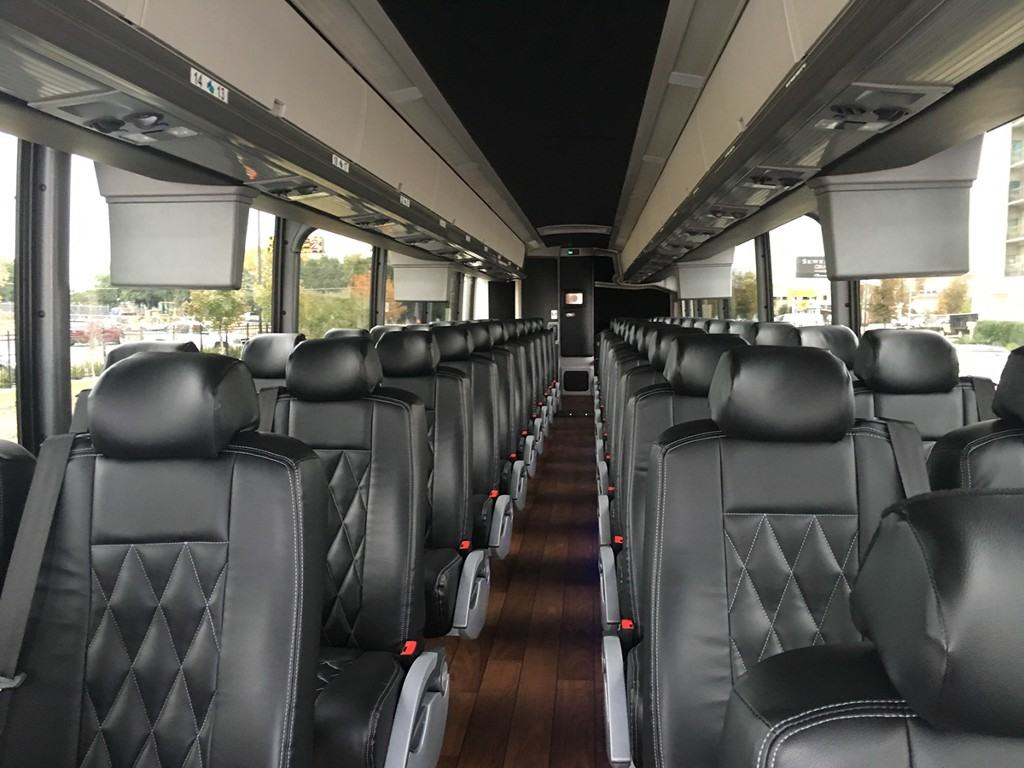 Interior of a Coach Bus
