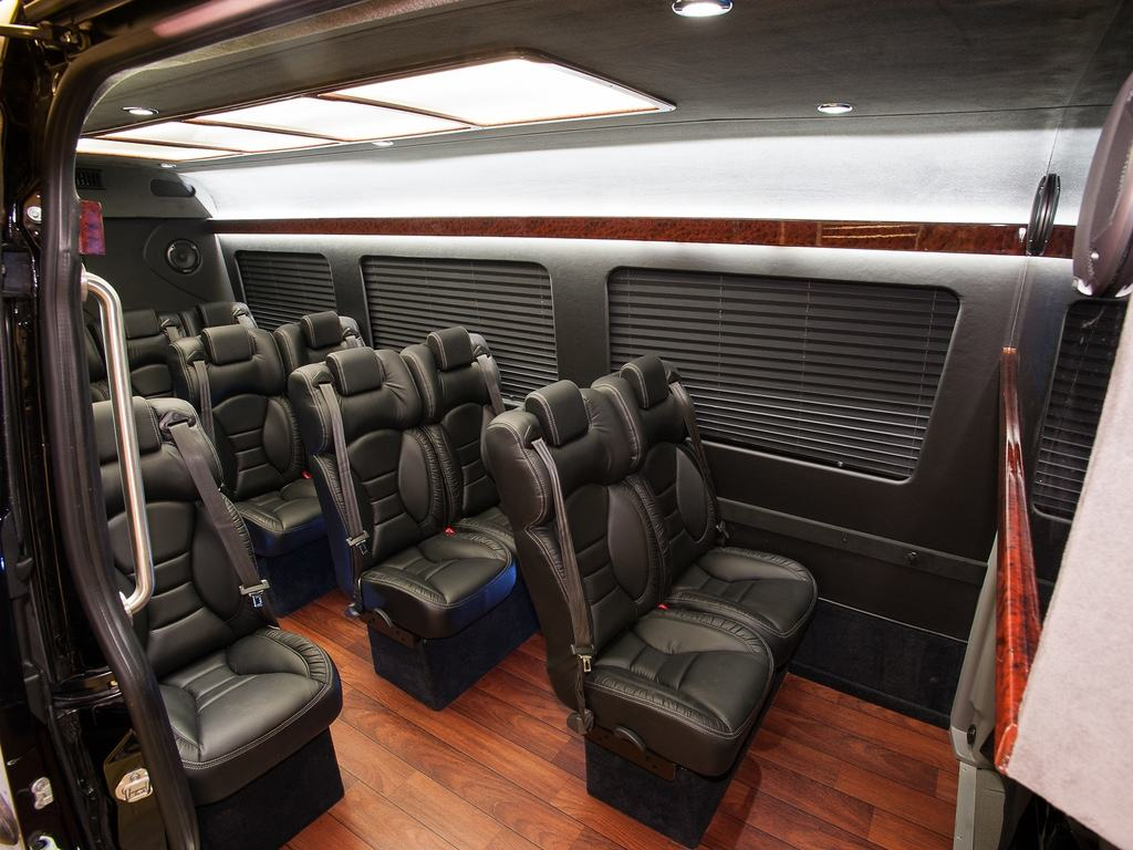 The Interior of a Sprinter Executive Van